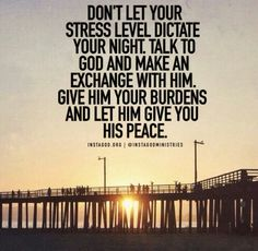 Give Your Burden's to God